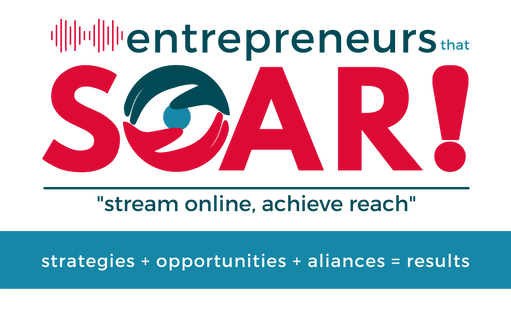 Entrepreneurs That SOAR 2021 - etSOAR - logo - #etSOAR - We do live events